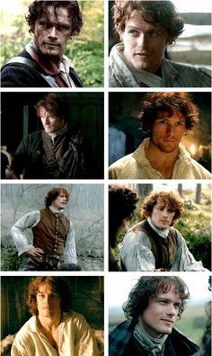 Holy mother of Scottish highlanders. Sam. Heughan. Is. Perfect.  Love is Ageless http://www.susanhaught.com