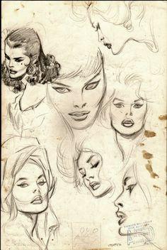 Nobody draws beautiful comic book women like John Buscema.