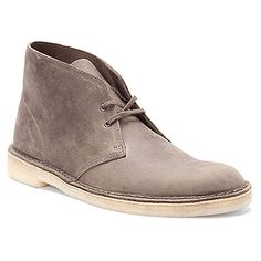 Clarks Desert Boot, Color: Grey Leather