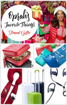 Oprah's favorite Things 2016: Travel Gifts. Gifts for the traveler in your life. Perfect Christmas Gifts.  #Christmasgifts #oprah