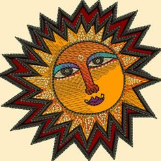 A Brighter Place by Laurel Burch - applique machine embroidery designs/collection I want too!