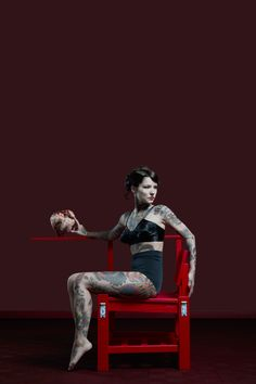 TATTOO CHAIR by Cookie Bros.