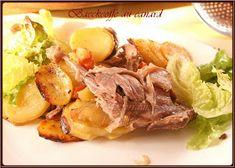 """BAECKEOFFE (revisité à ma manière) Le Baeckeoffe, la potée traditionnelle d'Alsace Également appelé le """"plat du lundi"""", le Baeckeoffe ét..."""