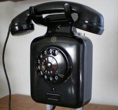 Vintage Telephone, Old Phone, Phone Holder, Vintage Advertisements, Landline Phone, Retro Vintage, Nostalgia, Poster, Memories