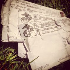 Letters from bootcamp #marines #USMC
