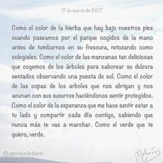 17 de marzo de 2017 : #MicrocuentoZ #: #microcuento #microcuentos #microcuentos2017 #microrrelato  #apuntesdediario #cuento #breve #literatura #relato #notebook #texto #text #artistsoninstagram  #marzo #march #201703 #mediodia #noon #verde #sanpatricio