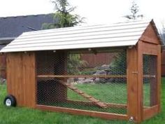 Moveable chicken coop by esperanza