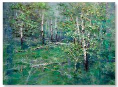 "Mike Wise | ""The Aspen Grove"" I Oil, 30 x 40"""