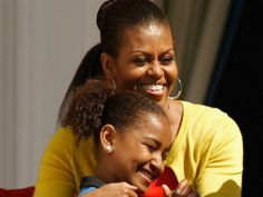 #FirstLady #FLOTUS Of The United States Of America #MichelleObama #FirstDaughter Of The United States Of America Sasha #Obama