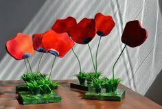Tulips under the sun