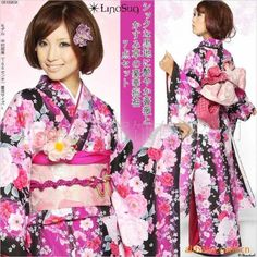 Ancient Japanese Female Dress Complete Set rental set traditional buy purchase on sale shop supplies supply sets equipemnt equipments Furisode Kimono, Yukata, Japanese Girl, Japanese Female, Japanese Cartoon, Asian Fashion, Style Fashion, Medieval Fantasy, Kawaii Fashion