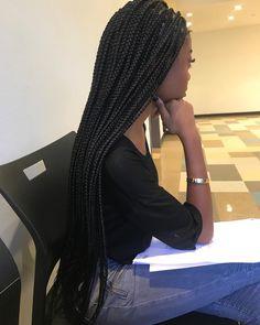 Box Braids Hairstyles, Ball Hairstyles, Black Girls Hairstyles, Protective Hairstyles, Summer Hairstyles, Pretty Hairstyles, Protective Styles, Black Girl Braids, Girls Braids