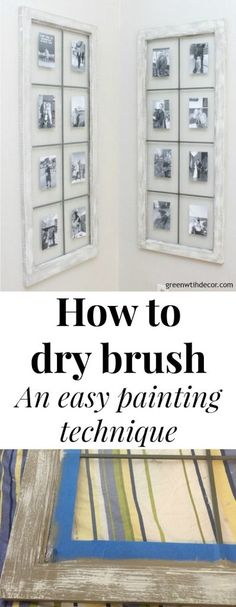 How to dry brush - s