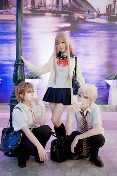 Zen(嫣) Aika Fuwa, Yoshino Takigawa, Mahiro Fuwa Cosplay Photo - WorldCosplay