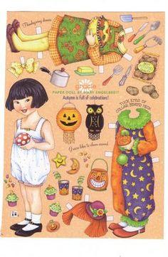 Bonecas de Papel: Ann Estelle