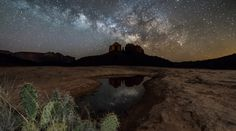 La Vía Láctea desde Arizona (Estados Unidos) | El Universo Hoy