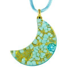 Erika Murano Glass Pendants in stock at Murano Glass Jewelry