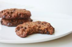 Delighted Momma: Salted Almond Butter Chocolate Chip Cookies (Paleo)