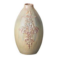 Amazon.com - Howard Elliott 82007 Ceramic Vase, Large, Sage - Decorative Vases