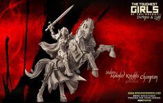 Update Update – (May not be SFW): Mounted Knights (Sisters - F) + Harpies (Dark Elves - F) + Skinners (Lust Elves - SF) · Light and Darkness Elf Images, Galaxy Lights, 28mm Miniatures, Tough Girl, Warhammer 40k Miniatures, Dark Elf, Knights, Elves, Rage