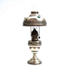 Antique French Parisienne Shade Brass Art Nouveau Cabochon Oil £145 https://www.etsy.com/shop/Retrocollects