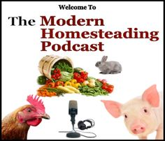 Welcome to the Modern Homesteading Podcast, where we journey down the path of the modern homesteading movement by sharing the stories and ideas of homesteaders around the world. So whether your jus...
