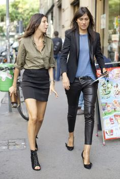 cocochic: Emmanuelle Alt and Geraldine Saglio
