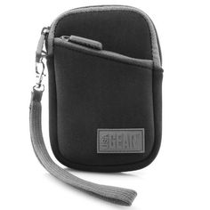 Compact Digital Camera Case Sleeve with Black Neoprene Cushion  Belt Loop and Carrying Wrist Strap by USA GEAR  Works with Nikon COOLPIX S33  S7000  S3700  More Nikon Point and Shoot Cameras >>> Check out this great product. This is Amazon affiliate link. #CameraBags
