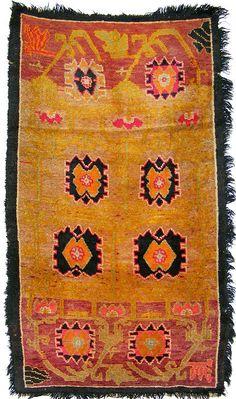152x86 cm antik Tibetischer Khaden Yoga Meditation von KabulGallery