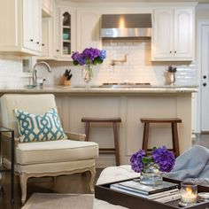 Smallspace Kitchen Remodel  Kitchen Small Kitchen Pictures And Hgtv Cool Small Space Kitchen Living Room Design Decorating Design
