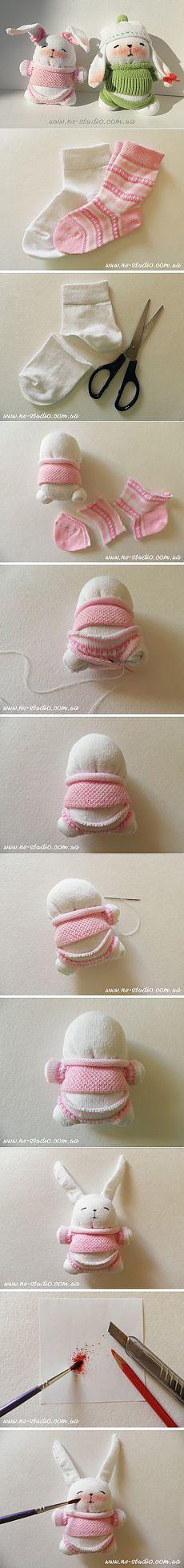 (+1) тема - Смешные игрушки из носков | СВОИМИ РУКАМИ