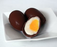 Cadbury Eggs Decoded!  Finally, you can make Cadbury-style Creme Eggs at home any time of year.  And you want to know the biggest secret?  The recipe...