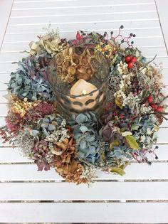 """Herbst Kranz """"Blumen und Beeren"""""""
