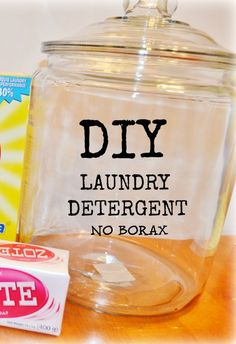 DIY Homemade Laundry Detergent - no Borax Ok @Kimberly Peterson O'Neill let's do this shit!!!