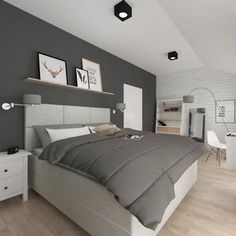 Złotniki Interior Design, Bed, Furniture, Home Decor, Nest Design, Decoration Home, Home Interior Design, Stream Bed, Room Decor