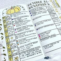 30 Bullet Journal Spreads That'll Start Your New Year Organized and Keep You Organized - Chasing A Better Life Best Bullet Journal Notebooks, Bullet Journal Themes, Bullet Journal Spread, Bullet Journal Layout, Bullet Journal Inspiration, Journal Ideas, Art Journals, Journal Organization, Organization Hacks