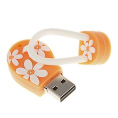 8G USB Flash Drive em forma de chinelo
