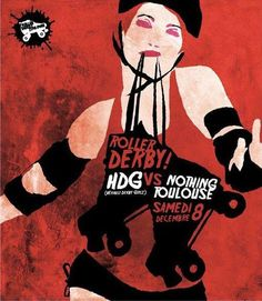 My work and other roller derby art. My Art Bout Posters Roller Derby Girls, Roller Disco, Band Posters, Comic Book Covers, Roller Skating, Art Girl, Skates, Flyers, Gymnastics