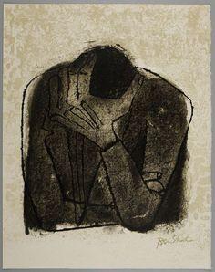 Beside the Dead (Rilke Portfolio)   Ben Shahn