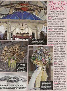Miranda & Blake's Wedding decorated by Junk Gypsy Company.  Awesome!