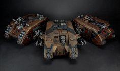 Minotaurs Land Raiders - by Davey80y