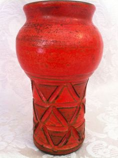 Vintage Italy Candle Holder (?) Bitossi Aldo Londi Gambone Raymor Fantoni Style in Pottery & Glass, Pottery & China, Art Pottery | eBay