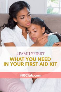 Whether you purchase a home first aid kit or assemble one on your own, your first aid supplies are a vital part of your overall health preparedness. Healthy Women, Healthy Kids, How To Stay Healthy, First Aid Kit Checklist, First Aid Supplies, Natural Kitchen, Sick Kids, Keeping Healthy, Healthy Living Tips