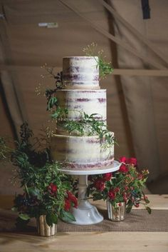 Best 25 Simple Rustic Winter Wedding Cakes Ideas 2017