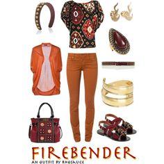 Firebender/Fire Nation (feminine)