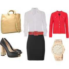 White Tops - For office wear.