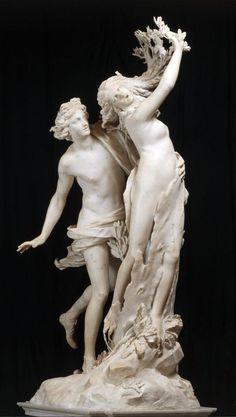 Gian Lorenzo Bernini - Apollo e Dafne (1625) Galleria Borghese, Roma