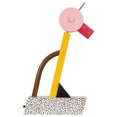 Tahiti Lamp by Ettore Sottsass for Memphis | From a unique collection of antique and modern table lamps at https://www.1stdibs.com/furniture/lighting/table-lamps/
