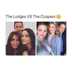 Lodges or Coopers? Comment your answer #camilamendes #veronicalodge #bettycooper #lilireinhart #archieandrews #cherylblossom #colesprouse #bughead #jughead #jugheadjones #riverdale #kjapa