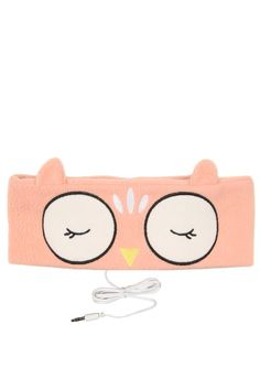 Light weight & washable this headband contains removable headphones & plugs into most audio devises with 3.5mm plug. Perfect for blocking out noise when sleeping or flying. Dimensions: 9cm x 26cm.